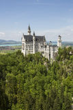 Neuschwanstein castle. Neuschwanstein castle in Bavarian alps, Germany Stock Images
