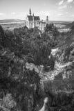 Neuschwanstein castle. Neuschwanstein castle in Bavarian alps, Germany Royalty Free Stock Photography