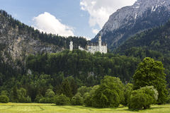 Neuschwanstein castle. Royalty Free Stock Images