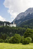 Neuschwanstein castle. Neuschwanstein castle in Bavarian alps, Germany Royalty Free Stock Image