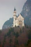 Neuschwanstein castle in Bavarian alps Stock Image