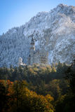 Neuschwanstein Castle in Baviera Stock Image