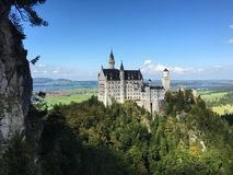 Neuschwanstein Castle. Beautiful Neuschwanstein Castle Stock Image