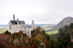 Neuschwanstein castle. Beautiful Bavaria at Europe Germany Stock Image