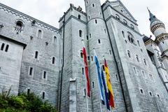 Neuschwanstein Castle, built 1869-1886 - Bavaria, Germany Royalty Free Stock Image