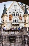 Neuschwanstein Castle, built 1869-1886 - Bavaria, Germany Stock Photos