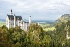 Neuschwanstein Castle. Built by King Ludwig II, Bavaria, Germany stock photos