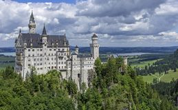 Neuschwanstein Castle, Castle Royalty Free Stock Images