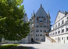 Neuschwanstein castle Stock Image