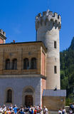 Neuschwanstein castle courtyard Stock Photography