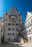 Neuschwanstein castle detail  Royalty Free Stock Photo