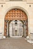 Neuschwanstein Castle Entrance Royalty Free Stock Photos