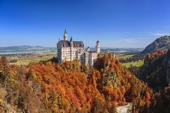 Neuschwanstein Castle - Fussen - Germany Stock Photos
