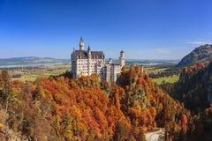 Neuschwanstein Castle - Fussen - Germany Stock Photos