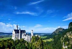 Neuschwanstein Castle Fussen Bavaria Germany stock image
