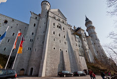 Neuschwanstein Castle Fussen Germany Stock Images