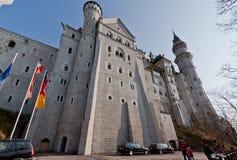 Neuschwanstein Castle Fussen Germany Stock Images