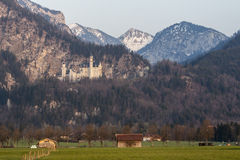 Neuschwanstein Castle Fussen Germany Royalty Free Stock Photography