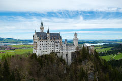 Neuschwanstein castle, Fussen, Germany Royalty Free Stock Images