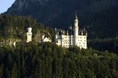 Neuschwanstein Castle, Germany. View of the Neuschwanstein Castle, Bavaria Germany royalty free stock images