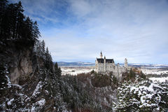 Neuschwanstein castle in Germany Stock Images