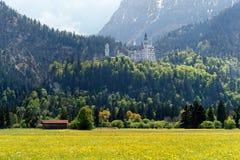 Neuschwanstein Castle, Germany royalty free stock image