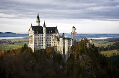 Neuschwanstein Castle, Germany. Neuschwanstein Castle on a beautiful autumn day. Bavaria, Germany stock images