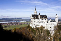 Neuschwanstein castle in Germany Stock Photos