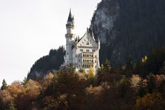 Neuschwanstein castle in Germany Stock Photo