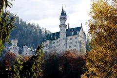 Neuschwanstein castle in Germany Stock Photography