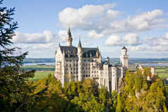 Neuschwanstein castle in Germany Royalty Free Stock Photo
