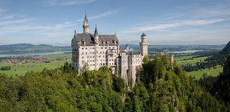 Neuschwanstein castle,Germany Royalty Free Stock Images