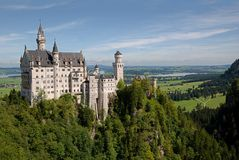 Neuschwanstein castle,Germany Royalty Free Stock Photo