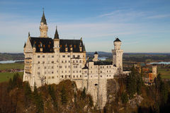 Neuschwanstein Castle in Germany Stock Images
