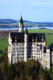 Neuschwanstein castle Romantic Road Stock Image