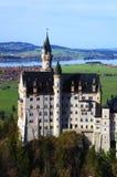Neuschwanstein castle Romantic Road Stock Image
