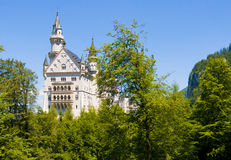 Neuschwanstein Castle, Germany Royalty Free Stock Photos