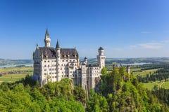 Neuschwanstein castle, Germany stock photo