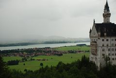 Neuschwanstein castle Germany royalty free stock images