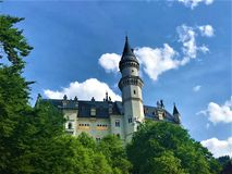 2019-06-14 Neuschwanstein Castle in Germany royalty free stock images