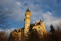 Neuschwanstein Castle, Germany. Neuschwanstein Castle. A nineteenth-century palace in the Mountains of southwest Bavaria, Germany Stock Photography
