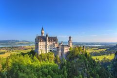 Neuschwanstein Castle - Fussen - Germany Stock Photography