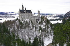 Neuschwanstein castle in Germany. Stock Photo