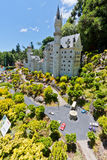 Neuschwanstein Castle Mini World Gramado Brazil Royalty Free Stock Photo