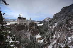 Neuschwanstein castle in Munich Royalty Free Stock Photos