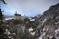 Neuschwanstein castle in Munich Royalty Free Stock Photos