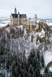 Neuschwanstein castle in Munich Royalty Free Stock Photo