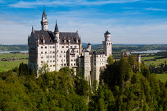 Neuschwanstein castle near Munich, Germany Stock Image