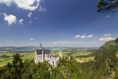 Neuschwanstein Castle  (New Swanstone Castle) Stock Photography