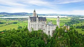 Neuschwanstein Castle. Royalty Free Stock Photo